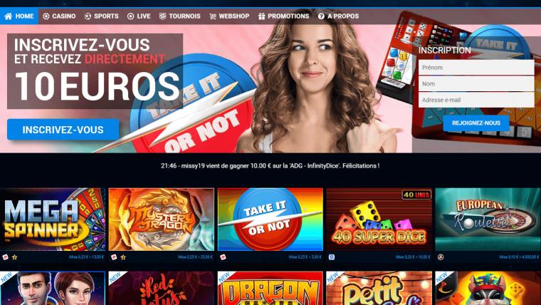 Avis Blitz casino : notre avis sur le casino belge