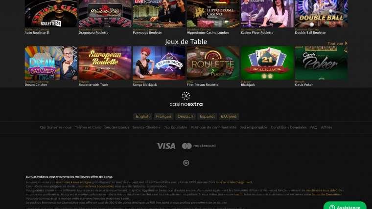 Avis casino Extra : tout savoir avant de s'engager
