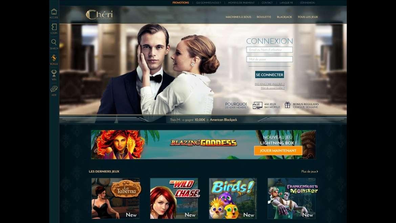 Avis Cheri casino : revue est critique complète de ce casino !