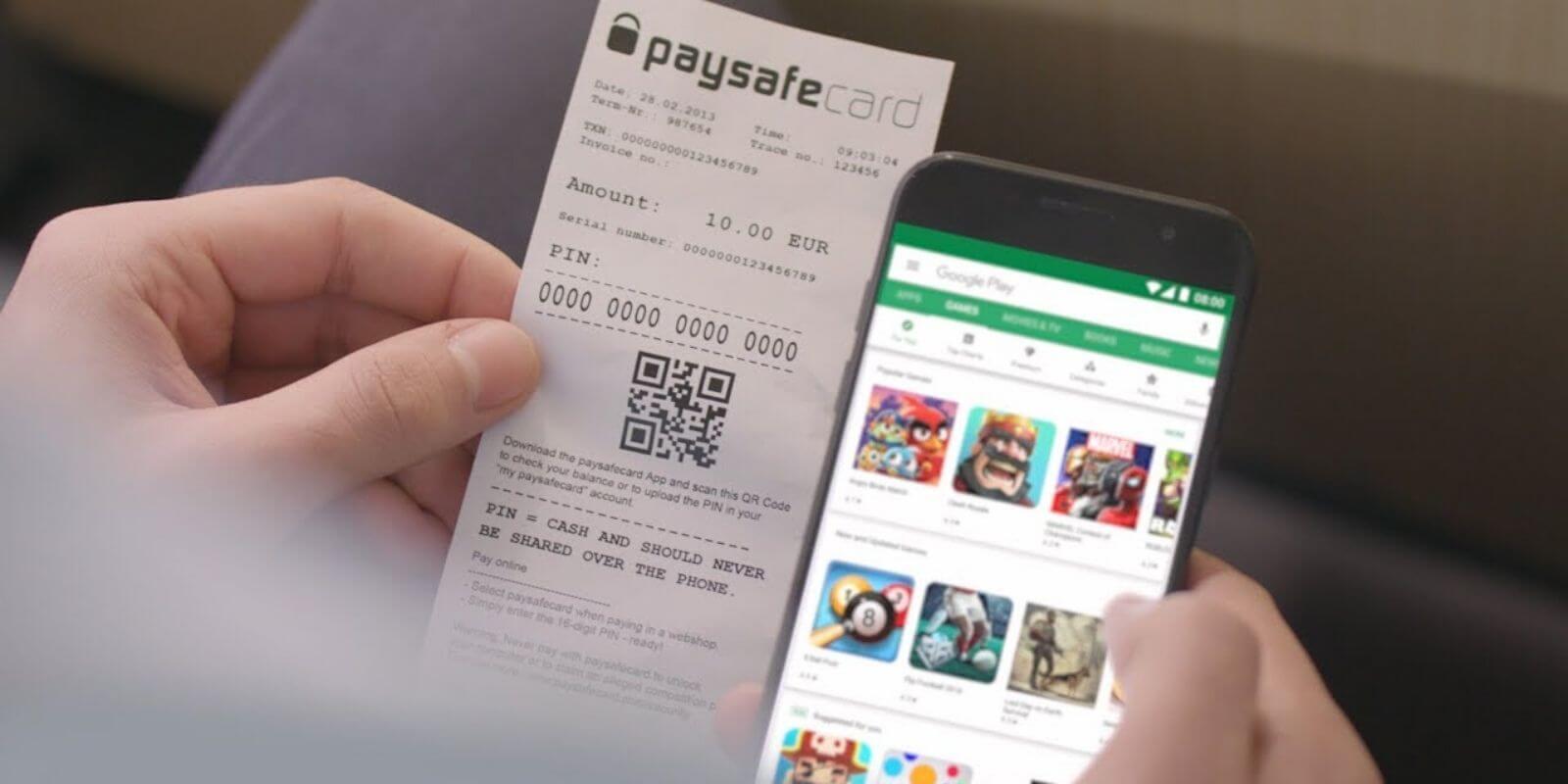 Casinos PaySafeCard : quels sont les avantages ?
