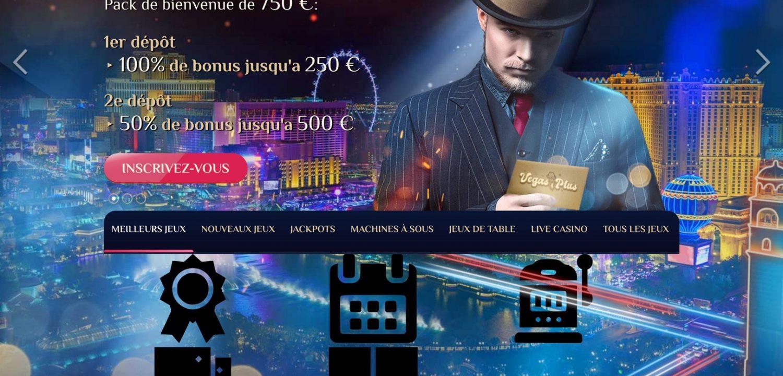 bonus casino vegas plus