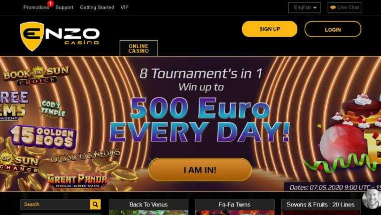 Enzo Casino : notre avis sur ce casino en ligne