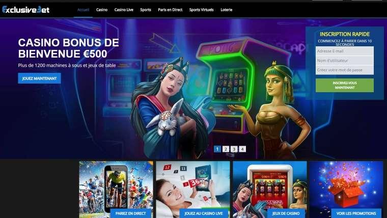 ExclusiveBet avis : que valent les offres de ce casino ?
