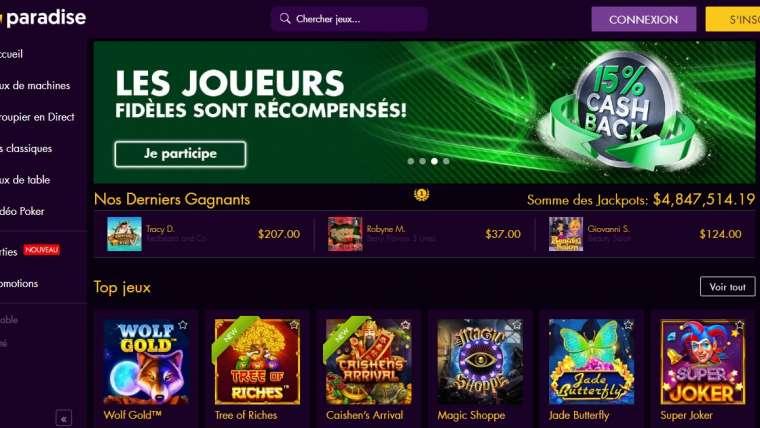 Win Paradise casino : un paradis pour les joueurs ? Le test !