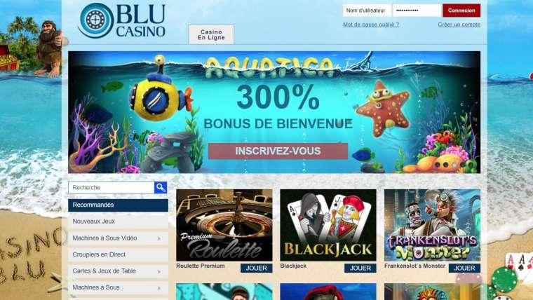 Blu Casino avis : les informations à ne pas oublier