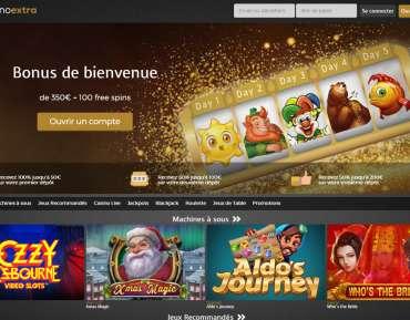 Casino Extra 2 Avis : gagnez des jackpots de 1 000 euros