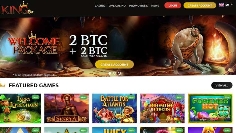 KingBit Casino : revue 2020 sur ce site de jeux en ligne !