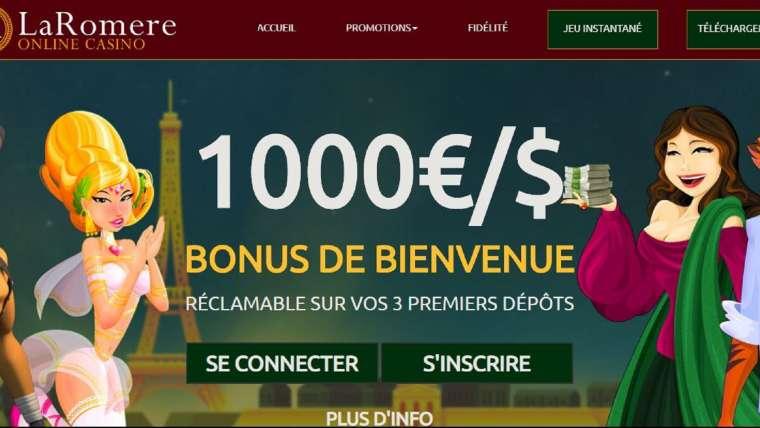LaRomere avis : 1000€ de bonus ! Fiable pour autant ?