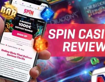 Spin Casino avis : bénéficiez de 1 000 € de bonus dès l'inscription