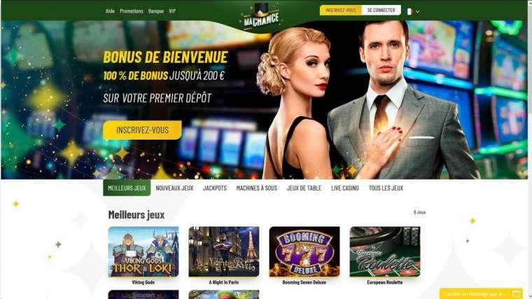 Ma Chance Casino avis : un bonus de bienvenue de 250 € !