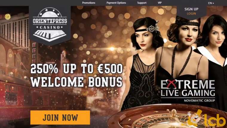 Orient Xpress Casino Avis : 100 free spins en plus de 800 € !