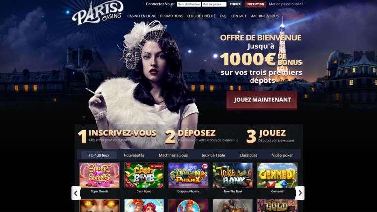 Paris Casino Avis : débutez l'aventure avec un bonus de 1 000 euros !