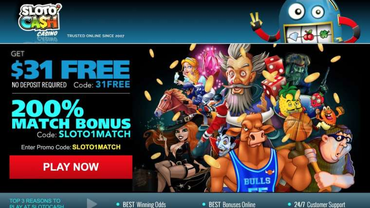 Sloto Cash Casino avis : bénéficiez d'un bonus de bienvenue de 7777 €