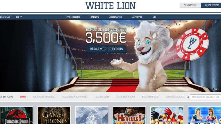 White Lion Casino en ligne avis : découvrez une analyse fiable !