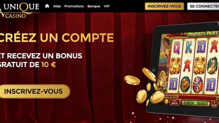 Unique Casino Avis : faut-il l'essayer ?