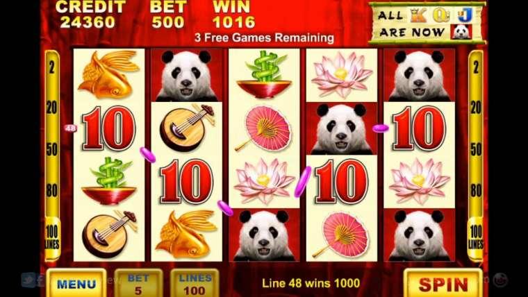 Machines à sous gratuites Panda : comment se faire des gains ?